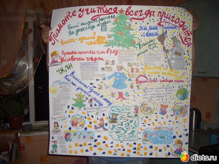 Плакат с на русском
